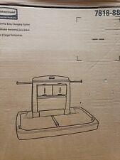 Rubbermaid Horizontal Baby Changing Table - 7818-88