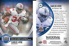 Carlos Hyde 2014 Upper Deck National Convention - NSCC - Ohio State