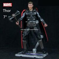 "New Thor Marvel Avengers Legends Comic Heroes Action Figure 7"" Kids Toy In Stock"