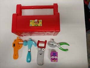 Disney Handy Manny Toolbox Talking Singing Tool Box with 5 Tools tested and work