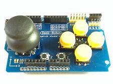 Gamepad Shield für Arduino | Joystick | 7 Buttons | nRF24L01 & Nokia 5110 out