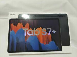 "*New Sealed* Samsung 12.4"" Galaxy Tab S7+ 512GB Tablet WiFi Mystic Black+S-Pen"