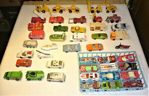 Vintage 1970's - 80's Mostly Matchbox Cars + Hotwheels etc