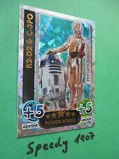 Topps Force Attax Awakens Limited Edition R2-D2 C-3PO limitiert Erwachen Macht