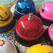 Desk Bell Ring Kitchen Bar Service Call Hotel Counter Metal Reception Restaurant
