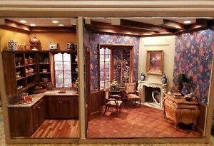 Dollhouse Miniature Artisan Class Roombox
