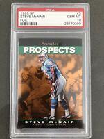 1995 SP Foil Football Steve McNair #3 PSA 10 Oilers Titans RC Rookie Gem Mint