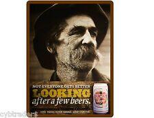 Lucky Beer Bier Refrigerator / Tool Box Magnet Man Cave