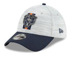 2021 Chicago Bears New Era 39THIRTY NFL Sideline Training Camp Cap Hat On Field
