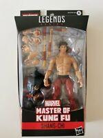 Marvel Legends SHANG-CHI Spider-Man Masters of Kung Fu 6 inch Action Figure BAF
