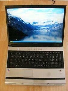 """Toshiba Satellite M60 17"""" Screen Notebook PentiumM CPU @ 2.2GHz 2GB RAM 60GB HDD"""