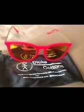 DICKS COTTONS Velvet Sunglasses - Red brand New