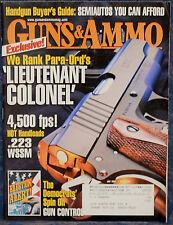 Magazine GUNS & AMMO July 2004 !!! J.C. HIGGINS Model 50 RIFLE !!!