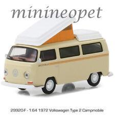 GREENLIGHT 29920 F 1972 VW VOLKSWAGEN TYPE 2 CAMPMOBILE 1/64 DIECAST BEIGE