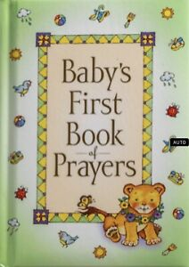 Baby's First Book of Prayers by Melody Carlson FREE shipping $35