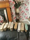 Vintage+8+Petit+Point++Vanity%2FDressing+Table+Clothes+Brushes