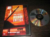 Decision Critical DVD Kurt Russell Halle Berry John Leguizamo Oliver Platt