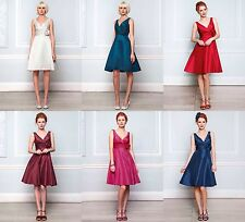 BHS Cecilia Bridesmaid Dress Ivory, Fuchsia, Merlot, Sapphire Red Ocean