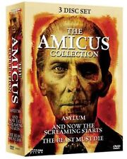 THE AMICUS COLLECTION (3 disc set) Peter Cushing - DVD - Region Free - Sealed