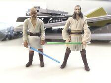 Star Wars 3.75 Legacy Jedi Tarados Gon Qui Gon Jinn Loose