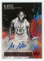 2018-19 AL ATTLES 79/99 AUTO PANINI COURT KINGS HIGH COURT SIGNATURES AUTOGRAPHS