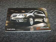 2007 acura mdx owners manual ebay rh ebay ca 2011 Acura MDX 2013 Acura MDX