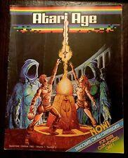ATARI AGE  MAGAZINE SEPTEMBER 1982 IN GOOD CONDITION! RARE!