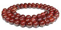 😏 Afrikanischer roter Jaspis Kugeln 6 & 8 mm Edelstein Perlen Strang 😉