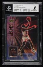 1998-99 Upper Deck Ionix Area 23 Michael Jordan #A7 BGS 9 HOF