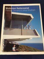 Signed MODERNISM REDISCOVERED mid century modern architecture JULIUS SHULMAN
