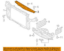 KIA OEM Radiator Core Support-Sight Shield Splash Cover Panel 863613W000