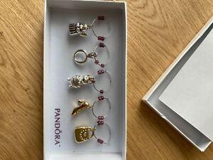pandora wine glass charms