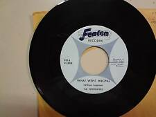 """PENETRATERS: What Went Wrong-Cross The River Of Love-U.S. 7"""" 1965 Fenton Records"""