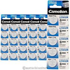 """""""30x Camelion CR2032 PREMIUM Lithium Batterie CR 2032"""