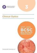 Curso De Ciencias Básicas y Clínicas (BCSC): sección 3: óptica Clínica por..