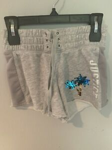 Justice Girls Gray Shorts Size 8