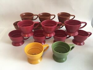 Set of 16 Vintage Plastic Solo Cozy Cup Holders