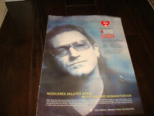 "Bono of U2 Grammy ad MusiCares Person of the Year ""Musician and Humanitarian"""