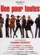Bande annonce cinéma 35mm 1999 Une pour toutes Claude Lelouch Marielle Parillaud
