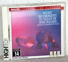 CD MOZART Oboenkonzerte KV313 & KV314 - Heinz Holliger