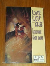 LONE WOLF AND CUB BOOK 13 FIRST PUBLISHING KAZUO KOIKE MILLER < 0915419335
