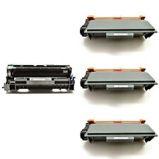 3PK TN750 Toner+1PK DR720 Drum For Brother MFC-8520DN 8710DW HL-5450DN 5470DW