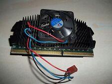 CPU SLOT 1  SL356 Pentium II / 2  350 Mhz con dissipatore e ventola funzionante