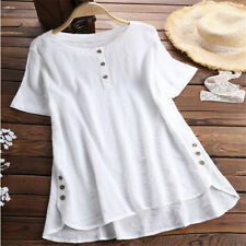 Plus Size Women Short Sleeve Kaftan Baggy Blouse T Shirt Top Ladies Casual Tunic