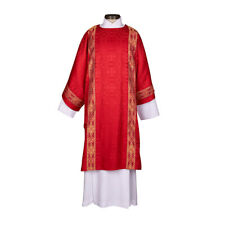 Red Traditio Dalmatic Orphrey and Understole