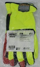 Ironclad Kong Operator Oil Amp Gas Safety Work Gloves X Large Yellow Black Red