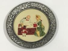 Sebastian Miniatures Pewter Plate The Candy Store There Was A Time Signed