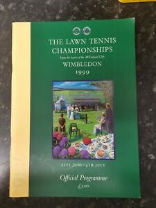 WIMBLEDON Lawn Tennis Championships Official Programme 1999  Day 12 3rd July