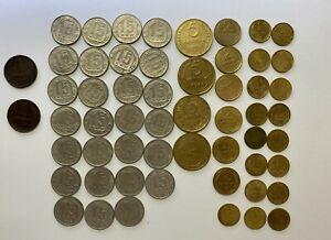 Sovjet Union 56 coins