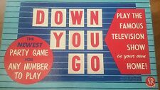 Down you go 53 play the famous television show party game vintage board